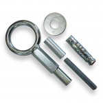 Eyebolts Welded Ø50 Hexagonal Body - Female